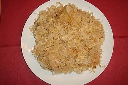 Gebratenes Sauerkraut 20