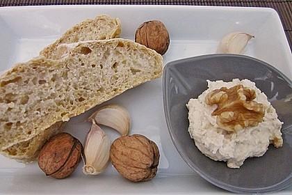 Feta - Walnuss - Knoblauch - Butter