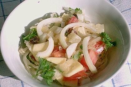 Sauerkraut - Ananas - Apfel Salat