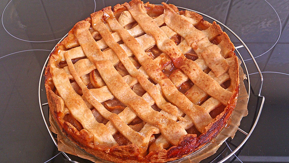 american apple pie recipe dishmaps. Black Bedroom Furniture Sets. Home Design Ideas