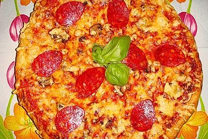 Italienischer Pizza-Hefeteig 1