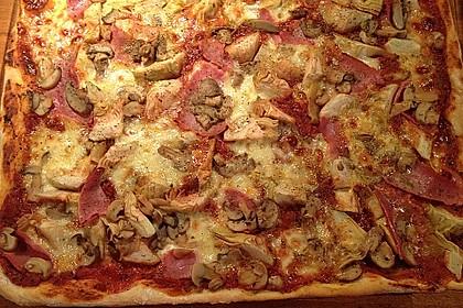Italienischer Pizza-Hefeteig 3