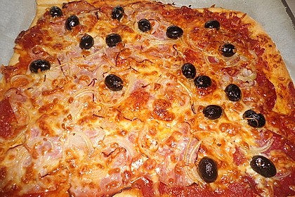 Italienischer Pizza-Hefeteig 4