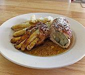 Gerollte Hähnchenbrust mit Spargel & Prosciutto (Bild)