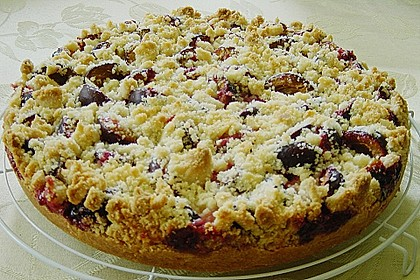 Zwetschgen-Streuselkuchen mit Pudding 49