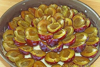 Zwetschgen-Streuselkuchen mit Pudding 91