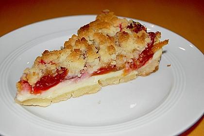 Zwetschgen-Streuselkuchen mit Pudding 10