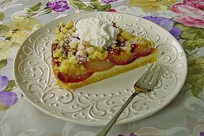 Zwetschgen-Streuselkuchen mit Pudding 30