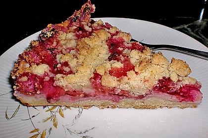 Zwetschgen-Streuselkuchen mit Pudding 23