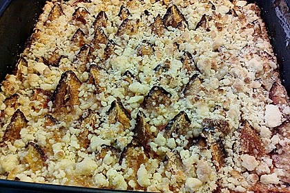 Zwetschgen-Streuselkuchen mit Pudding 99