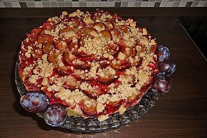 Zwetschgen-Streuselkuchen mit Pudding 76