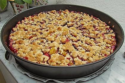 Zwetschgen-Streuselkuchen mit Pudding 32
