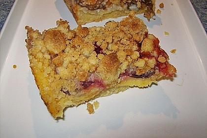 Zwetschgen-Streuselkuchen mit Pudding 71