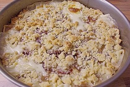 Zwetschgen-Streuselkuchen mit Pudding 107