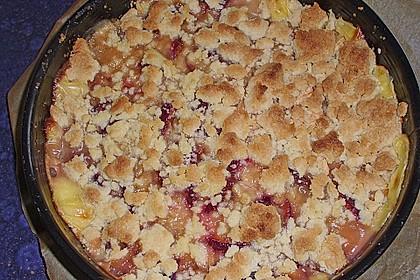 Zwetschgen-Streuselkuchen mit Pudding 117