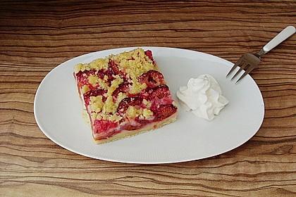 Zwetschgen-Streuselkuchen mit Pudding 9