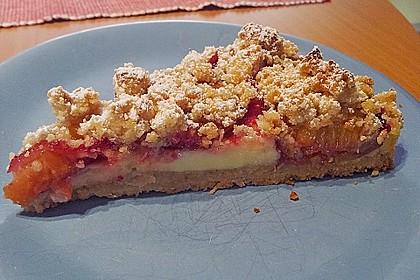 Zwetschgen-Streuselkuchen mit Pudding 42