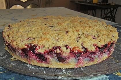 Zwetschgen-Streuselkuchen mit Pudding 122