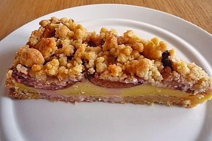 Zwetschgen-Streuselkuchen mit Pudding 25