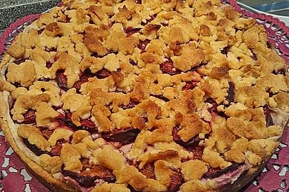 Zwetschgen-Streuselkuchen mit Pudding 87