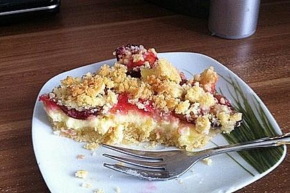 Zwetschgen-Streuselkuchen mit Pudding 97