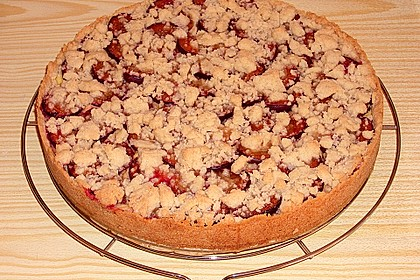 Zwetschgen-Streuselkuchen mit Pudding 52