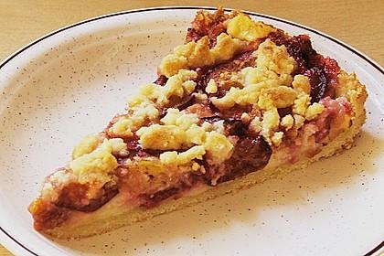 Zwetschgen-Streuselkuchen mit Pudding 40