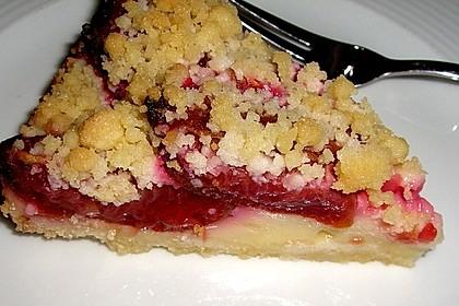 Zwetschgen-Streuselkuchen mit Pudding 81