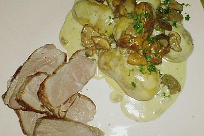 Steinpilz - Rahmkartoffeln mit Entenbrust 24