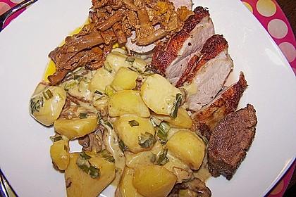 Steinpilz - Rahmkartoffeln mit Entenbrust 9