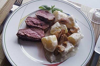 Steinpilz - Rahmkartoffeln mit Entenbrust 21