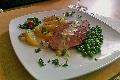 Steinpilz - Rahmkartoffeln mit Entenbrust 7