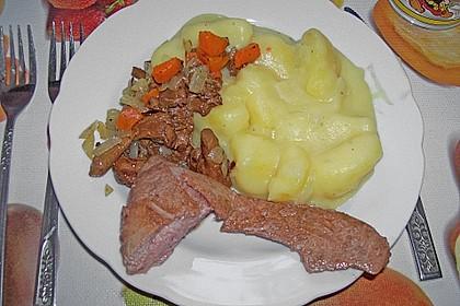 Steinpilz - Rahmkartoffeln mit Entenbrust 22