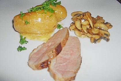 Steinpilz - Rahmkartoffeln mit Entenbrust 25