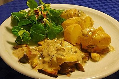 Steinpilz - Rahmkartoffeln mit Entenbrust 14