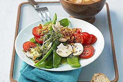 zuckerschoten salat rezept mit bild von angelwoman. Black Bedroom Furniture Sets. Home Design Ideas
