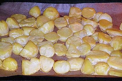 Schneller Stroganoff mit süß - sauren Backkartoffeln 2