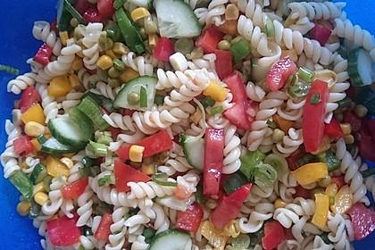 Sommerlicher Nudel - Gemüse - Salat 3
