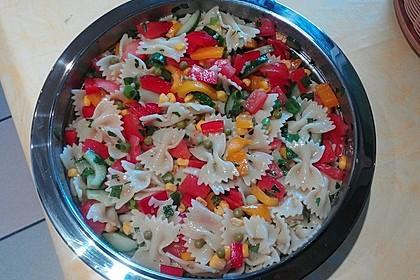 Sommerlicher Nudel - Gemüse - Salat 5
