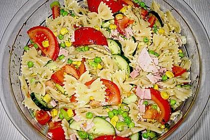 Sommerlicher Nudel - Gemüse - Salat 7