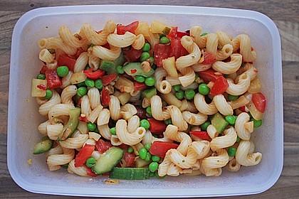 Sommerlicher Nudel - Gemüse - Salat 1