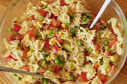 Sommerlicher Nudel - Gemüse - Salat 8