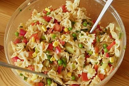 Sommerlicher Nudel - Gemüse - Salat 12