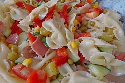Sommerlicher Nudel - Gemüse - Salat 4