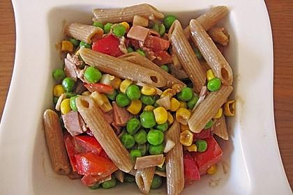 Sommerlicher Nudel - Gemüse - Salat 9