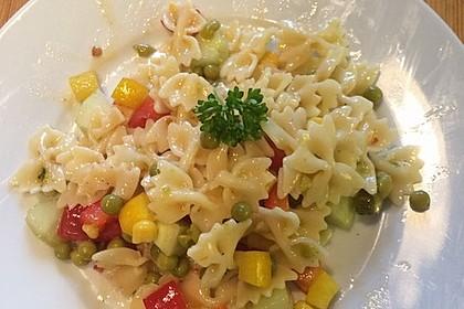 Sommerlicher Nudel - Gemüse - Salat 13