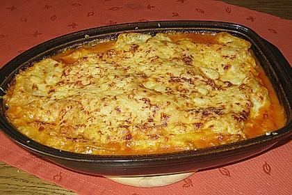 Lasagne mit Hackfleisch und Pilzen 2