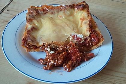 Lasagne mit Hackfleisch und Pilzen 6