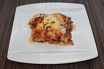 Lasagne mit Hackfleisch und Pilzen 7