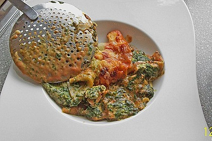 Lachs-Lasagne mit Spinat 76